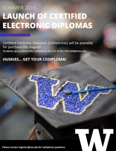 CeDiploma Announcement